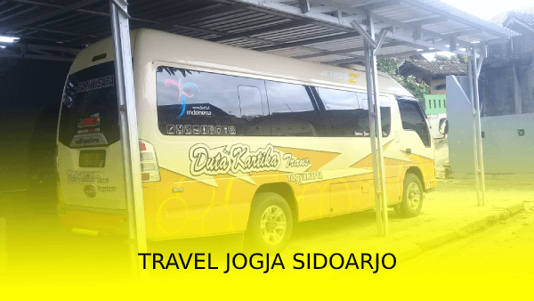 Travel Jogja Sidoarjo