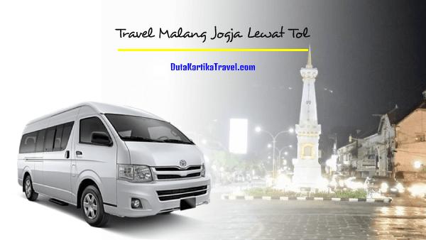 Travel Malang Jogja Lewat Tol
