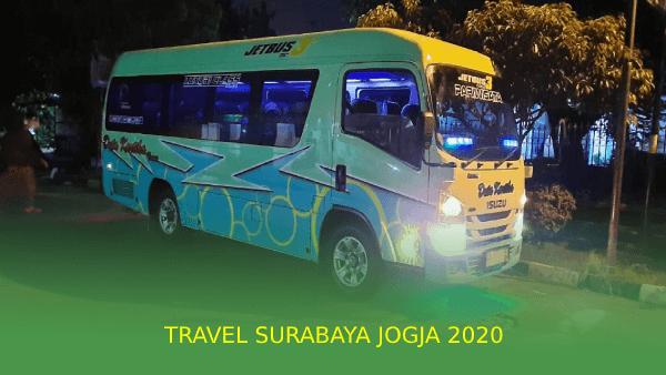 Travel Surabaya Jogja 2020